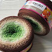 Пряжа ручной работы. Ярмарка Мастеров - ручная работа Yarn Art Flowers 272. Handmade.