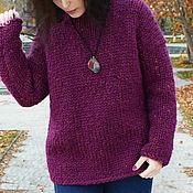 Одежда handmade. Livemaster - original item Sweater with thick yarn. Handmade.