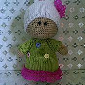 Куклы и игрушки ручной работы. Ярмарка Мастеров - ручная работа малышка Зайка. Handmade.