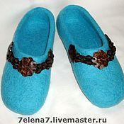 """Обувь ручной работы. Ярмарка Мастеров - ручная работа Тапочки """" Венера"""". Handmade."""
