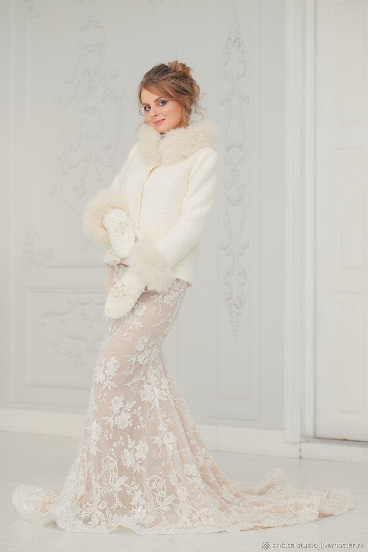 Wedding coat, Bridal jacket, Bridal coat, Wedding jacket, Varvara P, Capes, Moscow,  Фото №1