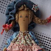 """Куклы и игрушки ручной работы. Ярмарка Мастеров - ручная работа Шалунья( куколка из серии"""" Детство""""). Handmade."""