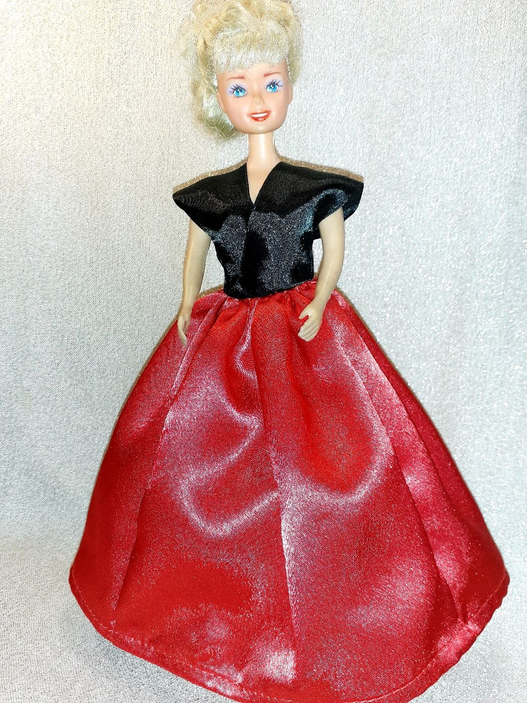 """Платье для Барби """"Красное и черное"""", Одежда для кукол, Москва,  Фото №1"""