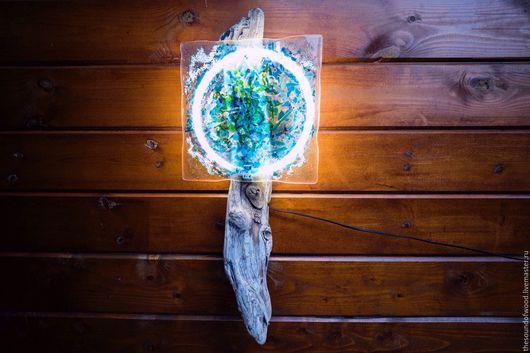 Освещение ручной работы. Ярмарка Мастеров - ручная работа. Купить С балтийских берегов. Handmade. Дерево и стекло, морские коряги