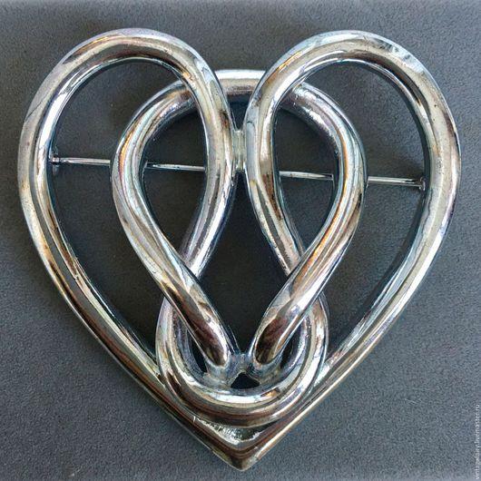 Винтажные украшения. Ярмарка Мастеров - ручная работа. Купить Винтажная брошь Givenchy Сердце. Handmade. Винтаж, комбинированный, брошь винтажная
