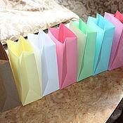 Материалы для творчества handmade. Livemaster - original item Kraft pack color (packaging bags). Handmade.
