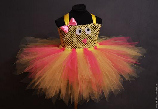 Детские карнавальные костюмы ручной работы. Ярмарка Мастеров - ручная работа. Купить Милый цыплёнок. Handmade. Желтый, цыплята