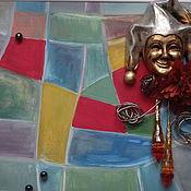 Картины и панно ручной работы. Ярмарка Мастеров - ручная работа Арлекино. Handmade.