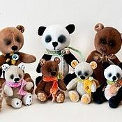 Куклы и игрушки ручной работы. Ярмарка Мастеров - ручная работа Мишки-малышки. Handmade.