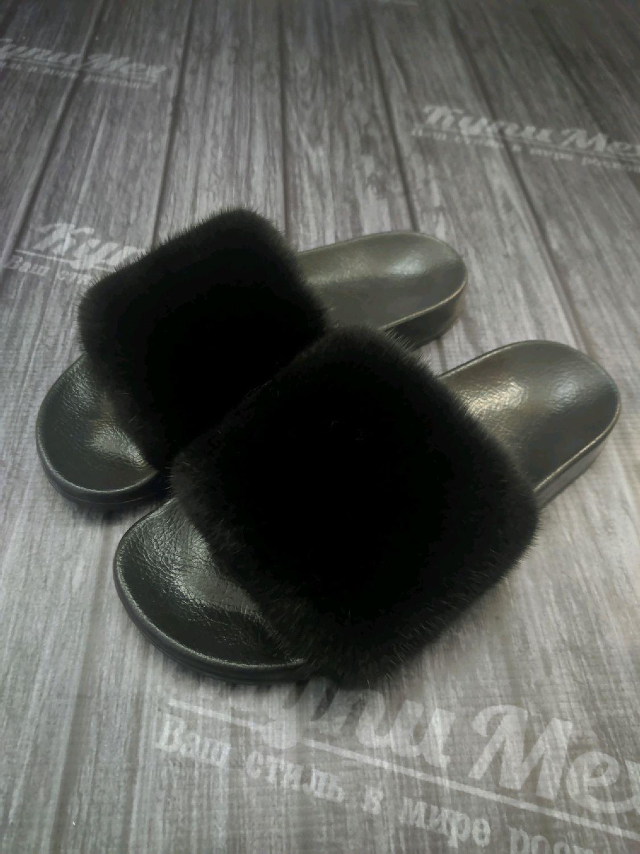 Женские тапочки из норки, Тапочки, Нальчик,  Фото №1