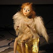 Куклы и игрушки handmade. Livemaster - original item Art doll angel. Handmade.