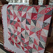 Bedspreads handmade. Livemaster - original item Patchwork blanket