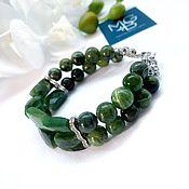 Украшения handmade. Livemaster - original item Jade bracelet