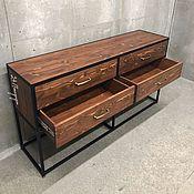 Для дома и интерьера handmade. Livemaster - original item WRANGLER chest of drawers. Handmade.