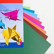 Бумага ручной работы. Ярмарка Мастеров - ручная работа Бумага для оригами Herlitz. Handmade.
