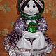 """Кухня ручной работы. Ярмарка Мастеров - ручная работа. Купить Кукла-зерновушка """"Дуняша"""". Handmade. Куклы ручной работы"""