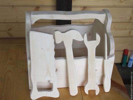Детские инструменты из дерева. Столярная Школа КедрпосадМастер