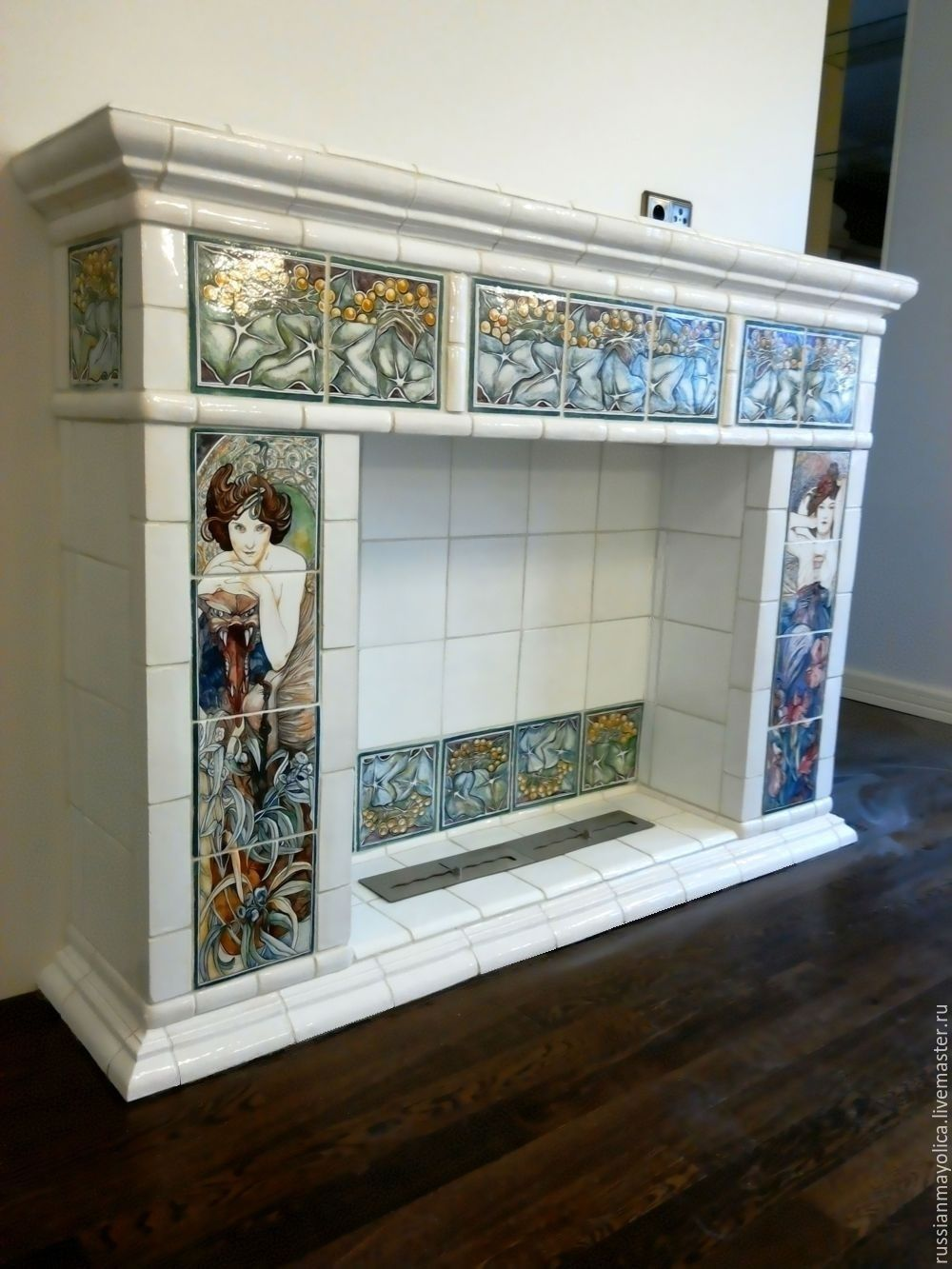 Fireplace in the art Nouveau style, Fireplaces, Moscow,  Фото №1