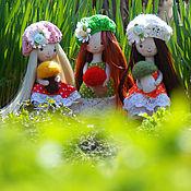 Куклы и игрушки ручной работы. Ярмарка Мастеров - ручная работа За грибами мы ходили... Handmade.