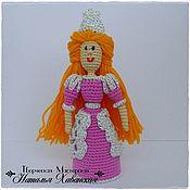 Куклы и пупсы ручной работы. Ярмарка Мастеров - ручная работа Принцесса пальчиковая кукла. Handmade.