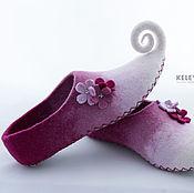 Обувь ручной работы handmade. Livemaster - original item Felted Slippers women