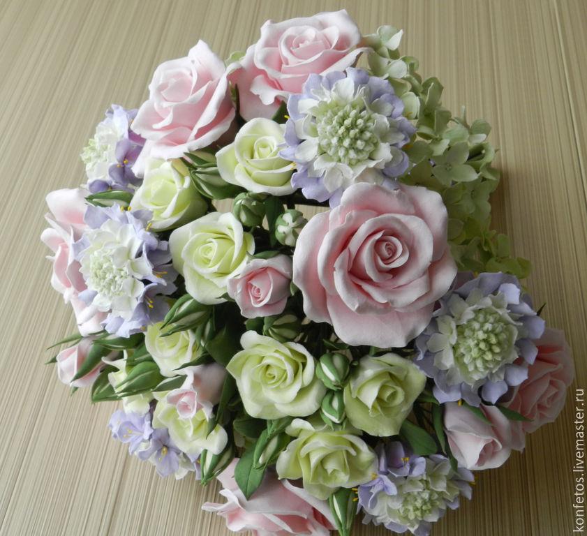 The bride's bouquet 'Pink ice', Wedding bouquets, Voskresensk,  Фото №1