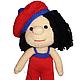 """Человечки ручной работы. Ярмарка Мастеров - ручная работа. Купить кукла """"Гоша"""". Handmade. Бежевый, мягкая игрушка, амигуруми"""