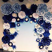 Подарки к праздникам ручной работы. Ярмарка Мастеров - ручная работа Цветочный задник 2х2 (аренда). Handmade.