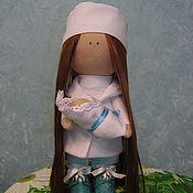 Куклы и игрушки ручной работы. Ярмарка Мастеров - ручная работа Куколка текстильная Медсестра. Handmade.