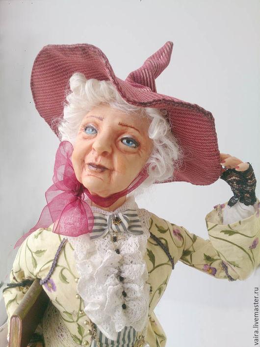 Коллекционные куклы ручной работы. Ярмарка Мастеров - ручная работа. Купить Учительница волшебства. Handmade. Желтый, кукла ручной работы