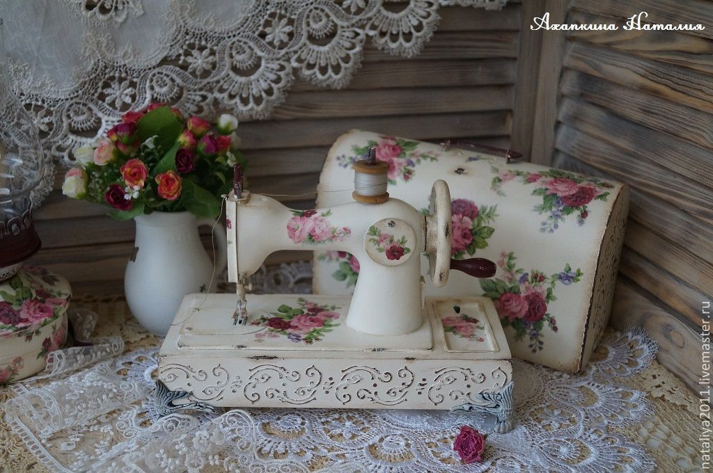 'French chic'-children's sewing machine, Interior elements, Moscow,  Фото №1