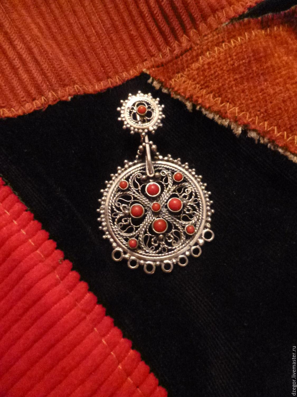 Earrings Makosh, Earrings, Kashira,  Фото №1