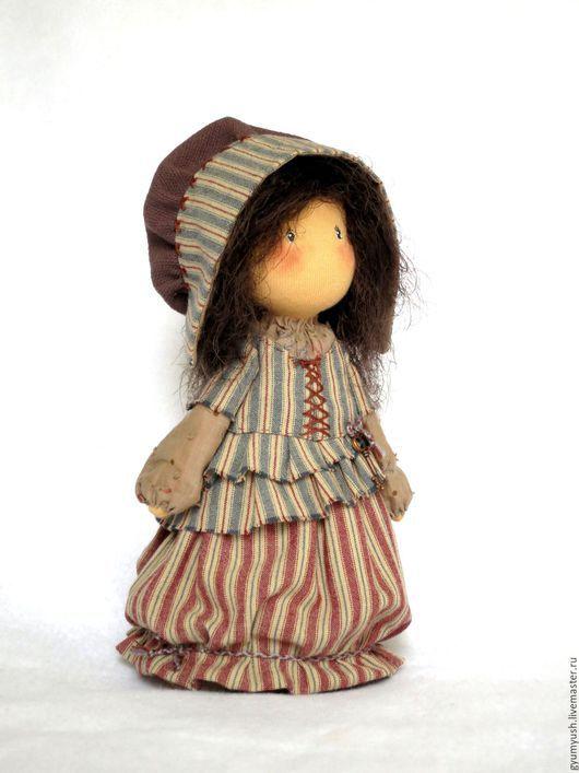 Коллекционные куклы ручной работы. Ярмарка Мастеров - ручная работа. Купить Текстильная куколка. Handmade. Разноцветный, текстильная кукла