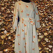 Dresses handmade. Livemaster - original item Linen dress