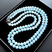 Украшения handmade. Livemaster - original item Aquamarine Necklace ROMANTIC Aquamarine Beads Author`s work. Handmade.
