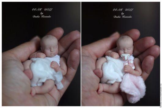 Куклы-младенцы и reborn ручной работы. Ярмарка Мастеров - ручная работа. Купить Марусенька! ООАК.. Handmade. Комбинированный, living doll