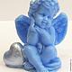 Order Soap Angel with heart. Dushamila 5 (krasivoe-myllo). Livemaster. . Soap Фото №3