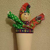 Куклы и игрушки ручной работы. Ярмарка Мастеров - ручная работа Петрушка. Handmade.