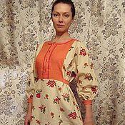 Одежда ручной работы. Ярмарка Мастеров - ручная работа платье ЯГОДКА. Handmade.