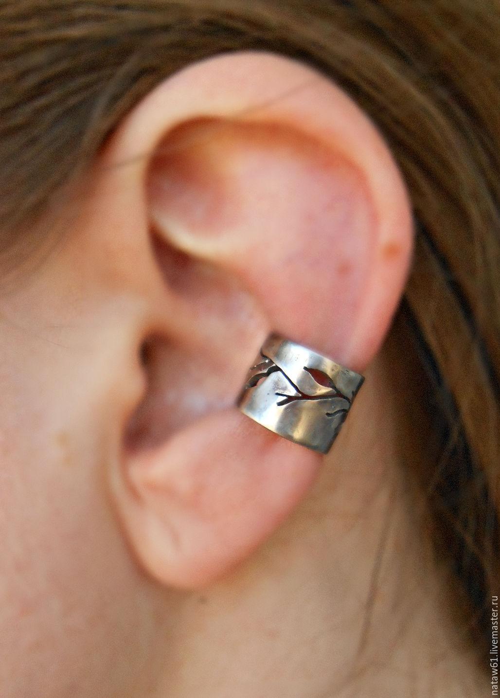 Ear Cuff Forest Minimalism Earring