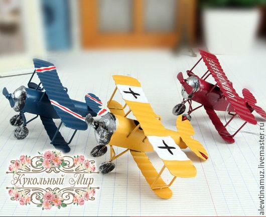 Куклы и игрушки ручной работы. Ярмарка Мастеров - ручная работа. Купить Самолет.. Handmade. Комбинированный