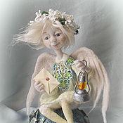 """Куклы и игрушки ручной работы. Ярмарка Мастеров - ручная работа Кукла из шерсти """"Ангел Радостных Вестей"""". Handmade."""