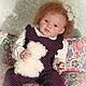 Куклы-младенцы и reborn ручной работы. Заказать Лизавета. Кукла-реборн. Оксана Журавлёва (littleangels). Ярмарка Мастеров. Кукла реборн