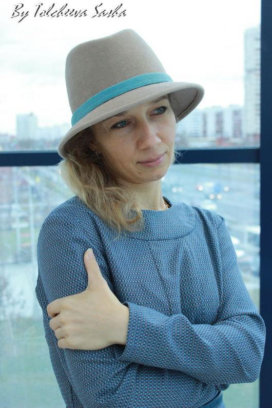 Шляпы ручной работы. Ярмарка Мастеров - ручная работа. Купить Акварель. Шляпа женская.. Handmade. Шляпа, молодёжная шляпа, мятный