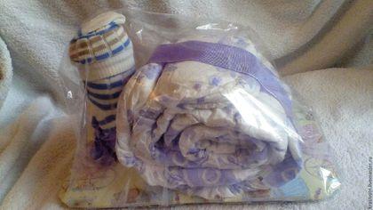 Для новорожденных, ручной работы. Торт из подгузников