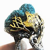 """Украшения ручной работы. Ярмарка Мастеров - ручная работа Кольцо """" Океания"""" от студии Fantasia. Handmade."""