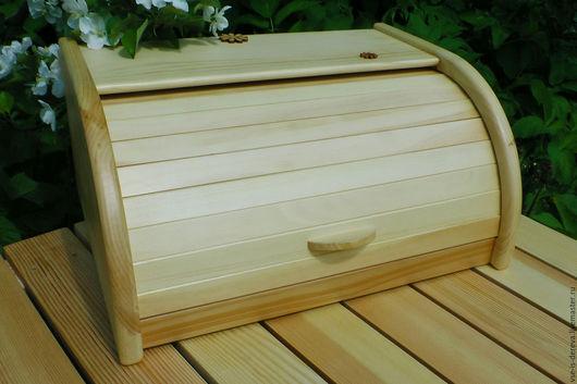 Кухня ручной работы. Ярмарка Мастеров - ручная работа. Купить Хлебница деревянная из кедра. Handmade. Хлебница, для кухни, хранение хлеба