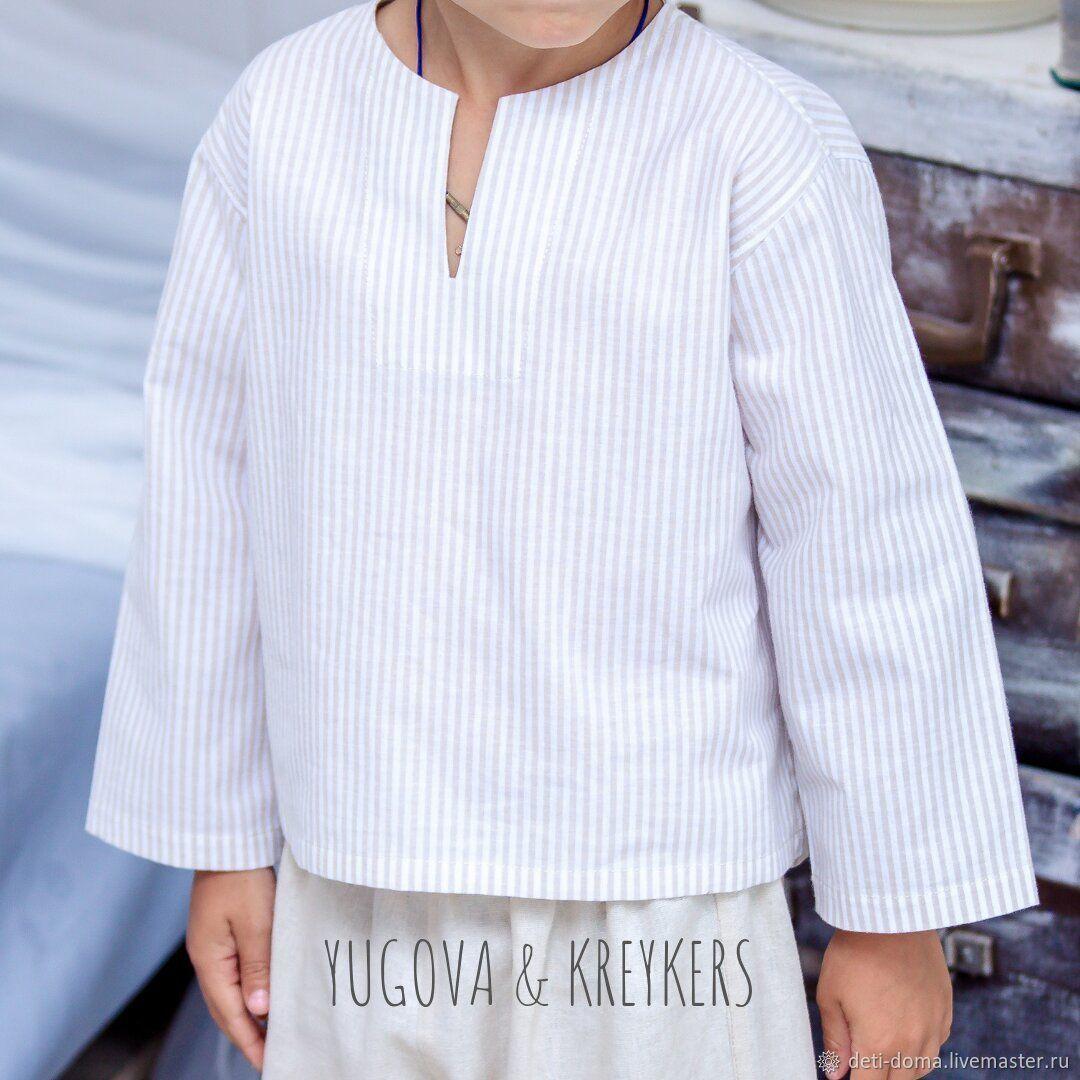 Рубашка для мальчика, Рубашки, Красноярск,  Фото №1