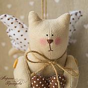 Куклы и игрушки handmade. Livemaster - original item Love the kitty Cupid. Handmade.