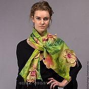 Аксессуары ручной работы. Ярмарка Мастеров - ручная работа шарф IMPRESSION. Handmade.